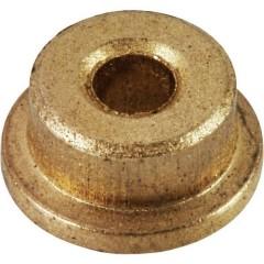 Boccola flangiata Diam int: 6 mm Diam. est.: 10 mm Larghezza: 15 mm 1 pz.