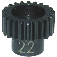 Parte tuning Pignone metallo 22 denti Modulo 48 DP