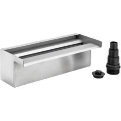 Cascata acciaio inox (L x L x A) 140 x 300 x 100 mm 1 pz.