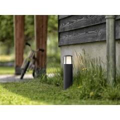 Stock Lampada da terra per esterni a LED 6 W Bianco caldo Antracite