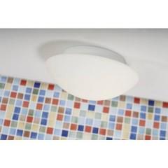 Ufo Maxi Lampada a soffitto per bagno Lampadina Alogena, LED (monocolore) E27 80 W Bianco