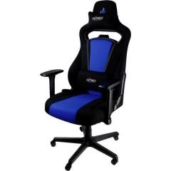 E250 Sedia da gioco Nero-Blu