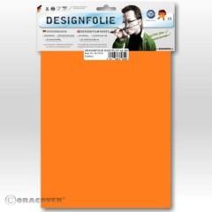 , pellicola in poliestere Easyplot arancione fluorescente