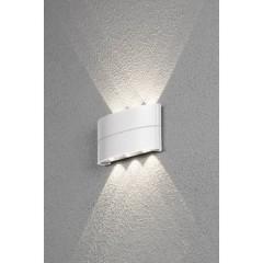 Chieri Lampada da parete per esterni a LED 7.98 W Bianco caldo Bianco