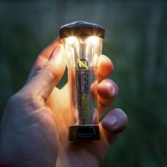 Lighthouse Micro Flash LED (monocolore) Luce da campeggio 150 lm a batteria ricaricabile 68 g Nero,