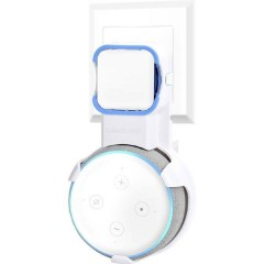 Hold ME Echo Supporto a parete Bianco Adatto per (assistente vocale):Amazon Echo Dot