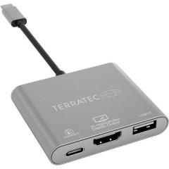 USB 2.0 Adattatore [1x spina USB-C™ - 1x Presa HDMI, presa USB-C™, Presa C USB 3.2 Gen 1 (USB 3.0)] CONNECT C3