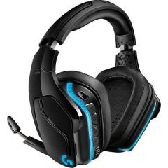 G935 Cuffia Headset per Gaming Jack 3,5 mm Senza filo, Filo Cuffia Over Ear Nero, RGB