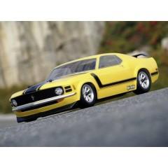 1:10 Carrozzeria 1970 Ford Mustang Boss 302 Body (200Mm) 200 mm Non verniciato, non tagliato