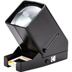 35mm Slide Viewer Visore per diapositive Ingrandimento 3x, Illuminazione LED, Funzionamento a batteria