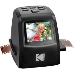 Mini Digital Film Scanner Scanner per pellicole 14 MPixel Unità luce trasmessa, Display integrato,