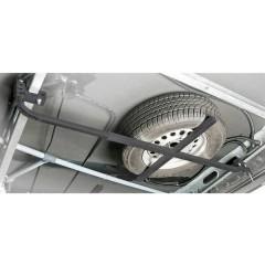 Supporto per ruota di scorta Acciaio 130, 185 cm, cm x 62 cm x 1.75 cm