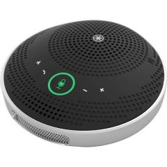 YVC-200 Telefono per teleconferenza Micro USB 2.0, Bluetooth, NFC Print™, Cuffie (jack da 3,5 mm) Nero