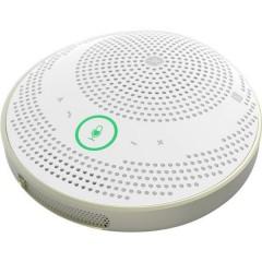 YVC-200W Telefono per teleconferenza Micro USB 2.0, Bluetooth, NFC Print™, Cuffie (jack da 3,5 mm) Bianco