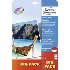 Superior Photo Paper Inkjet BIG PACK Carta fotografica DIN A4 200 gm² 50 Foglio Super lucida
