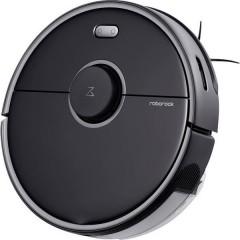 S5 Max Black Robot aspirapolvere Nero Comando vocale, Telecomandabile, Gestito da app, Compatibile con Amazon