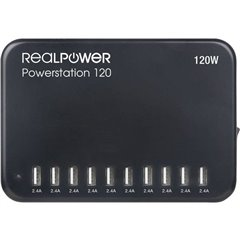 Powerstation 120 Armadietto di ricarica e sincronizzazione per tablet Stazione