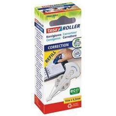Ricarica correttore a roller ROLLER 59841 4.2 mm Bianco 14 m 1 pz.