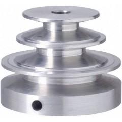 Alluminio Puleggia Ø foro: 6 mm