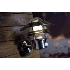 Blokhus Lampada da parete per esterni con rilevatore di movimento Lampada a risparmio energetico, LED