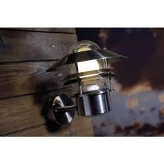 Blokhus Lampada da parete per esterno Lampada a risparmio energetico, LED (monocolore) E27 60 W acciaio