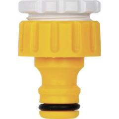 Plastica Presa per rubinetti filettati Raccordo a innesto