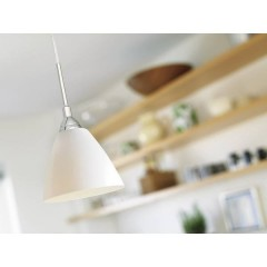 Read 14 Lampada a sospensione Lampadina Alogena, LED (monocolore) E14 40 W Bianco