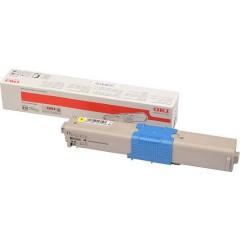Cassetta Toner Giallo 1500 pagine Toner Originale C332 MC363