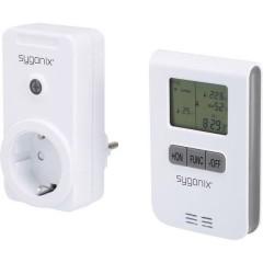 RS2W senza fili Set di controllo riscaldamento Spina intermedia Potenza di commutazione (max) 3500 W Raggio di azione