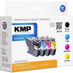 Cartucce combo pack Compatibile sostituisce Brother LC-3213VAL Imballo multiplo Nero, ciano, magenta, giallo B101V