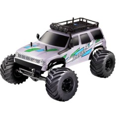 Raven Grigio Brushed 1:10 Automodello Elettrica Crawler 4WD 100% RtR 2,4 GHz incl. Batteria, caricatore e batterie