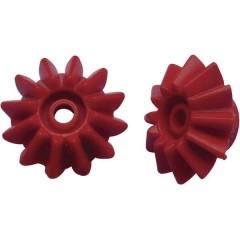 Coppie coniche per esperimenti didattici Tipo di modulo 1.0 Ø foro 2.9 mm Numero di denti 12