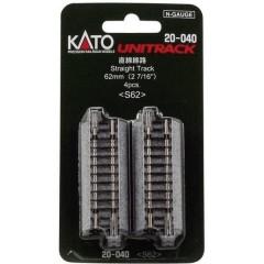 N Kato Unitrack Binario diritto 62 mm