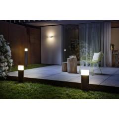 ENDURA® STYLE ELLIPSE L Lampada da parete per esterni a LED 13 W Bianco caldo Grigio scuro