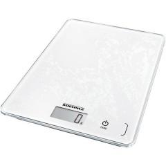 KWD Page Compact 300 Bilancia da cucina digitale con fissaggio a parete Portata max.=5 kg Bianco