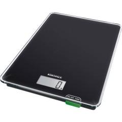 KWD Page Compact 100 Bilancia da cucina digitale Portata max.=5 kg Nero