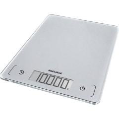 KWD Page Comfort 300 Slim Bilancia da cucina digitale Portata max.=10 kg Grigio-Argento
