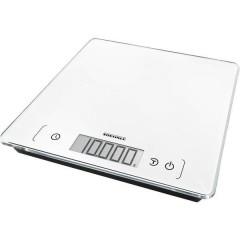 KWD Page Comfort 400 Bilancia da cucina digitale Portata max.=10 kg Bianco