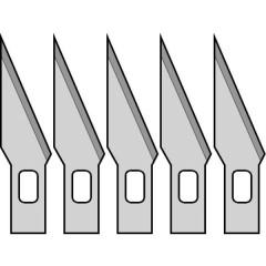 5 lame di ricambio per taglierino di precisione Donau
