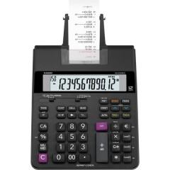 HR-200 RCE Calcolatrice da tavolo scrivente Nero Display (cifre): 12 a batteria, rete elettrica (opzionale) (L x A