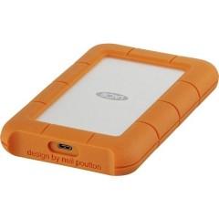 Rugged 2 TB Hard Disk esterno da 2,5 USB-C™ Argento, Arancione