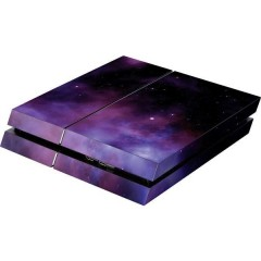 PS4 Skin Galaxy Violet Cover PS4