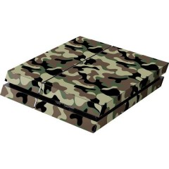 PS4 Skin Camo Green Cover PS4