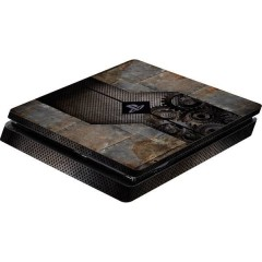 Skin für PS4 Slim Konsole Rusty Metal Cover PS4 Slim