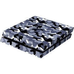 PS4 Skin Camo Grey Cover PS4