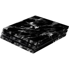 Skin für PS4 Pro Konsole Black Marble Cover PS4 Pro