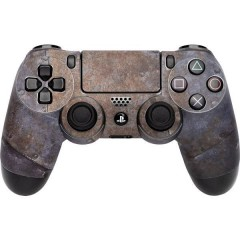 Skin für PS4 Controller Rusty Metal Cover PS4