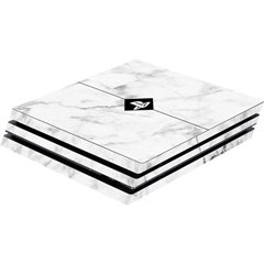Skin für PS4 Pro Konsole White Marble Cover PS4 Pro