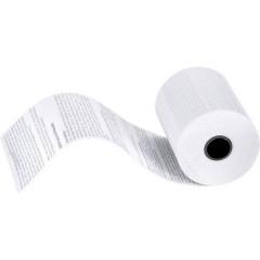 Rotolo carta termica per ec-Cash Larghezza: 57 mm Lunghezza: 14 m Diametro: 35 mm 50 pz.
