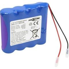 Pacco batteria 4x 18650 4S1P con cavo Li-Ion 14.4 V 2600 mAh